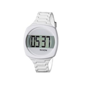 Nixon A168-100 Dash Women's White Rubber Bracelet